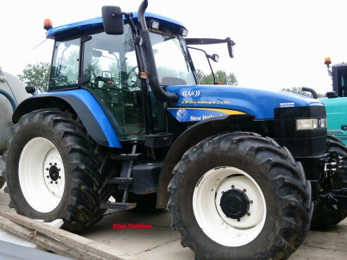 New Holland TM 155 van Jan F