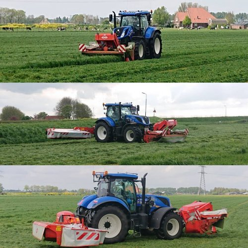 New Holland Meerdere van ford8340sle