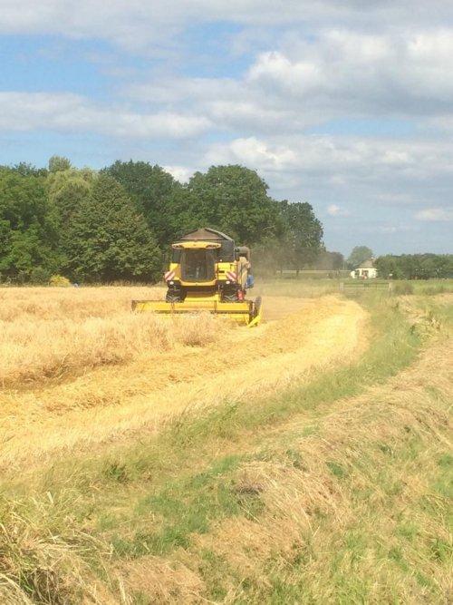 New Holland Combine. Geplaatst door Rutger de Eicher man  op 04-07-2019 om 19:40:31, op TractorFan.nl - de nummer 1 tractor foto website.