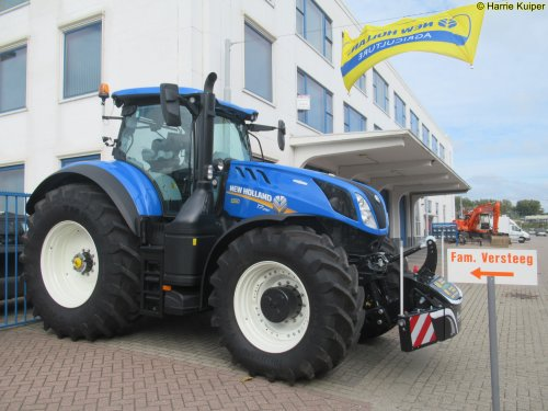 New Holland T 7.290 van oldtimergek