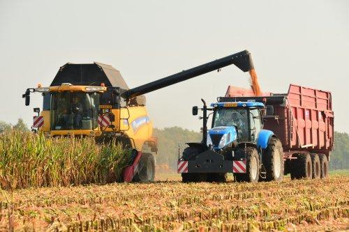 Non stop dorsen bij Loonbedrijf Van Raak. Geplaatst door jd7920 op 23-10-2019 om 21:01:14, op TractorFan.nl - de nummer 1 tractor foto website.