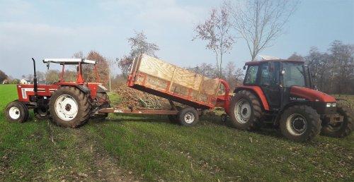 Foto van een New Holland TL 90. Geplaatst door bugo op 09-02-2020 om 19:08:52, op TractorFan.nl - de nummer 1 tractor foto website.