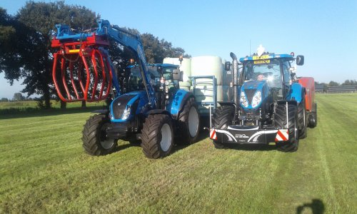 New Holland T 6050  van Norelvan1310