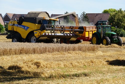 New Holland CX 860 van utwenters
