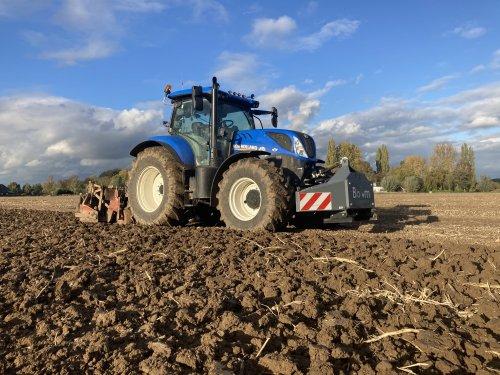 New Holland T 7.210 van gerrit power