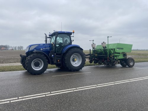 New Holland T 7.270 van ronald-deutz-fahr