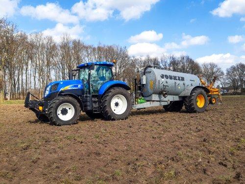 New Holland T 6030 Gen2 van new holland koen
