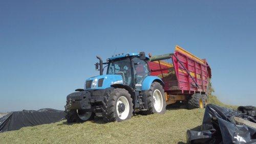 New Holland T 6.155 van gypCaseXL