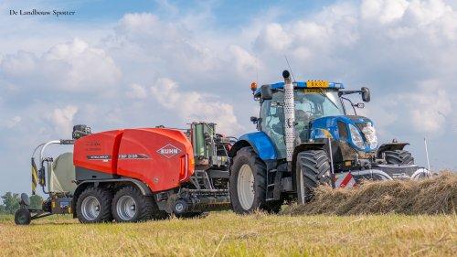 New Holland T 6050  van De Landbouw Spotter