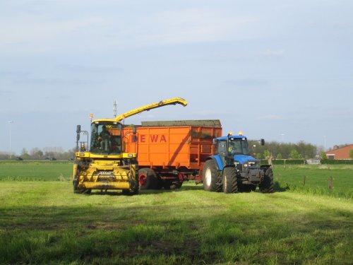 New Holland TM 165 van ford 7610