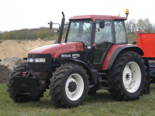 New Holland M 115 van NH ts135a