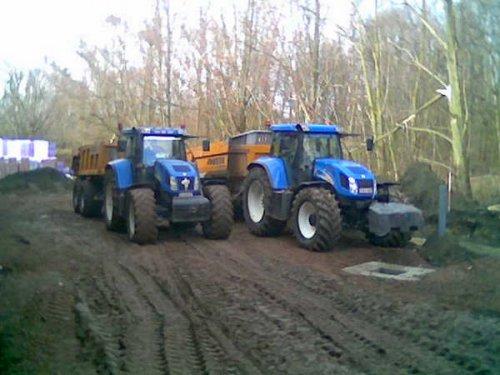 New Holland TVT 155 van aarone