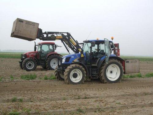 Tractors Diverse van bollenkweker