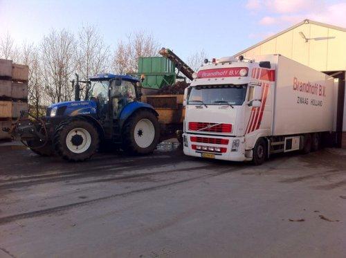 New Holland T 6000 van bas930