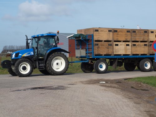 New Holland TS-A van manus