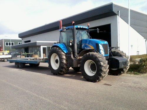 New Holland TG 255 van fendt 211 vairo