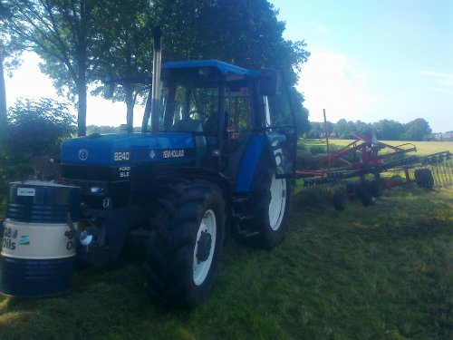 New Holland 8240 van marcel90