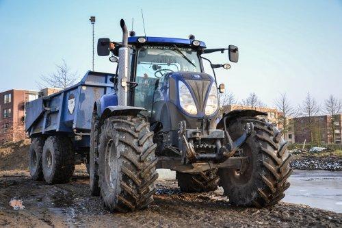 New Holland T 6030 Gen2 van CaseSound