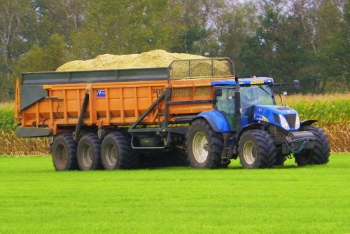 New Holland T 7000 van Martin Holland