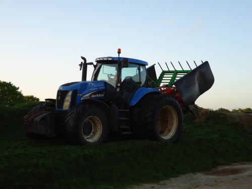 New Holland TG 255 van gerben