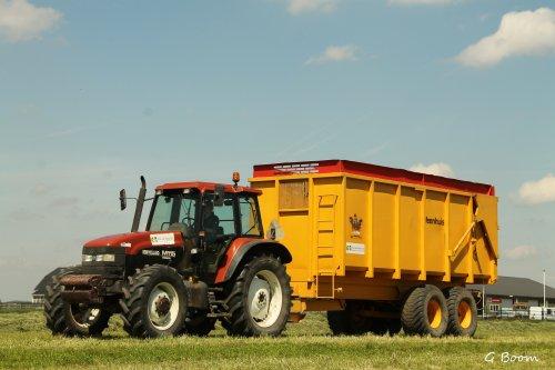 New Holland M 115 van gerrit power