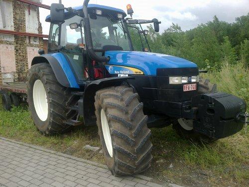 Foto van een New Holland TM 155, van boer uit Diest. Geplaatst door RobinVL op 22-06-2013 om 20:37:41, met 3 reacties.