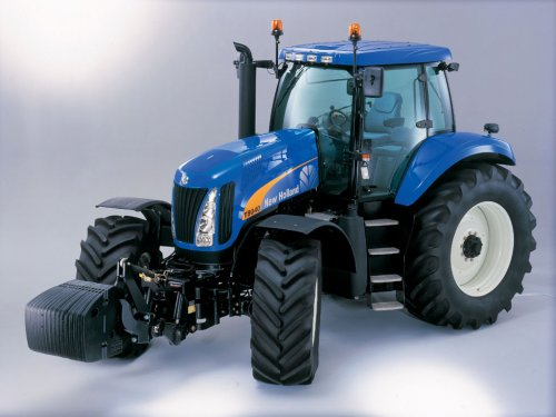 New Holland T 8000 Wallpaper
