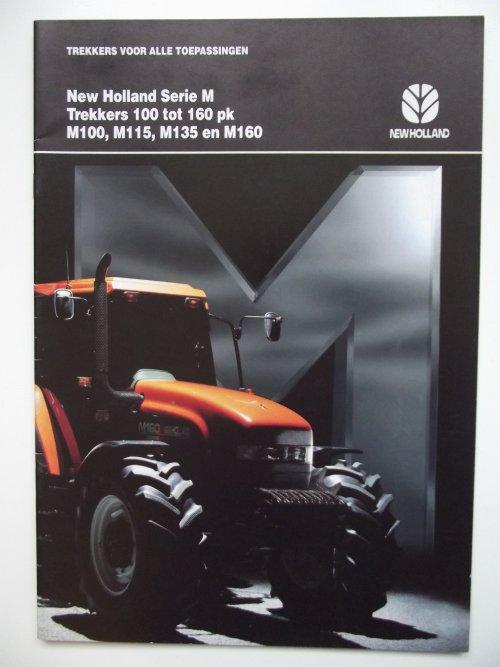 Foto van een New Holland Folder uit 1996.. Geplaatst door Trekkerman Tom op 22-11-2013 om 17:07:13, op TractorFan.nl - de nummer 1 tractor foto website.
