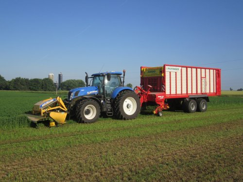 New Holland T 7.270 van John k