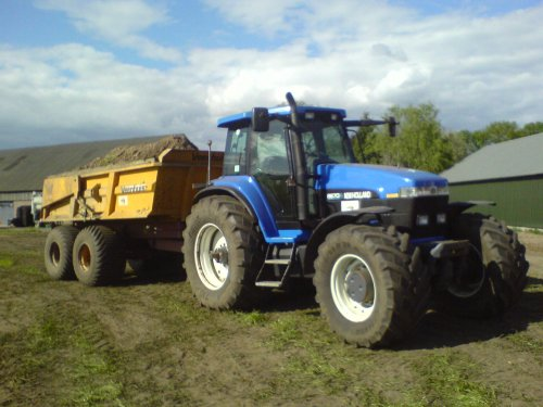 New Holland 8670 A van mxmpowertje