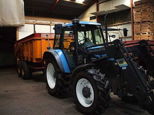New Holland TS 100 van kletsmajoor