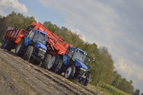 New Holland TM 130 van fendt 410