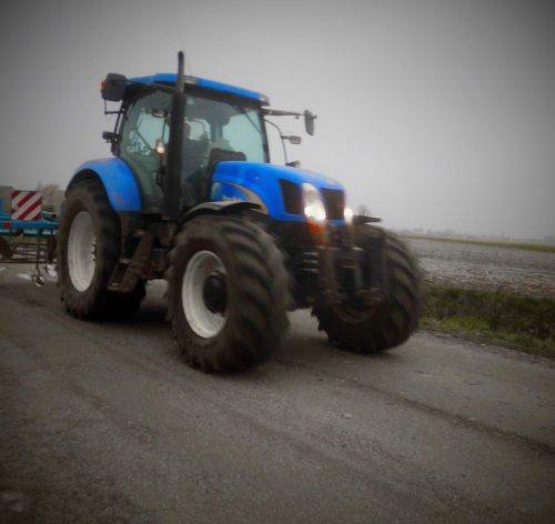 New Holland T 6000 van Jan Ramon