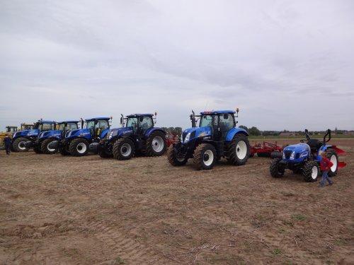 Foto van een New Holland Meerdere. Opstelling op foire d'agricolles gisteren in Pottes :). Geplaatst door guy op 14-09-2015 om 19:29:08, op TractorFan.nl - de nummer 1 tractor foto website.