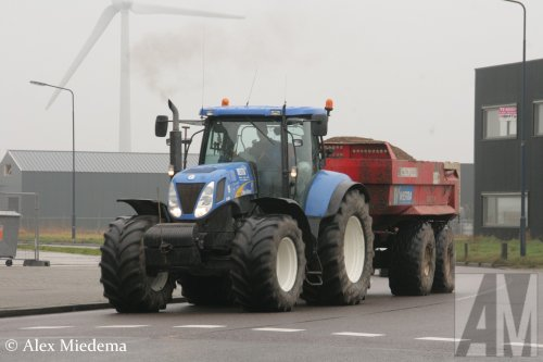 New Holland T 7000 van Alex Miedema