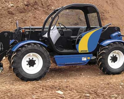 New Holland LM 5000 serie van newkollanddriver