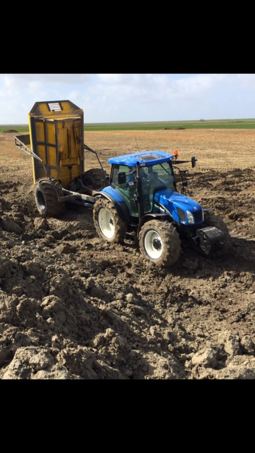 New Holland TS 100 A van Bonne grunn
