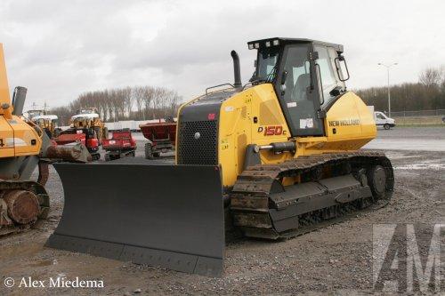 New Holland D150C van Alex Miedema