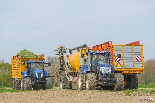 Hennig druk int veld... Geplaatst door pips op 25-04-2016 om 21:39:01, op TractorFan.nl - de nummer 1 tractor foto website.