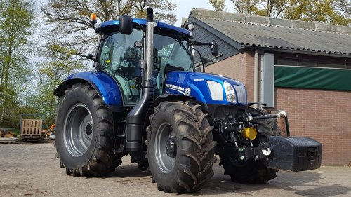 New Holland T 6.160 van joost fiat 180-90