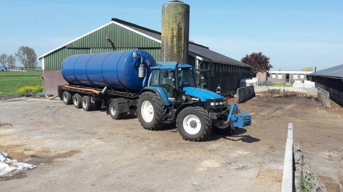 New Holland TM 135 van fendt 611lsa