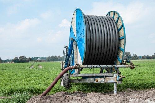 Eén week droog en het is alweer zover, tijd om te beregenen! Ocmis Haspel. Geplaatst door mike_v op 16-07-2016 om 19:26:51, op TractorFan.nl - de nummer 1 tractor foto website.