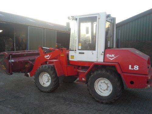 Foto van een O&K L 8. toch maar n andere schovel gekocht. Geplaatst door ronald-deutz-fahr op 23-01-2014 om 22:10:21, op TractorFan.nl - de nummer 1 tractor foto website.