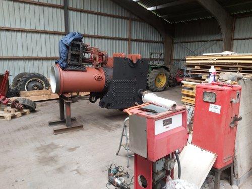 Foto van een Oldtimers stoomwals. Geplaatst door Fordson27 op 26-10-2019 om 10:39:07, op TractorFan.nl - de nummer 1 tractor foto website.