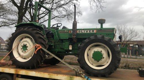 Foto van een Oliver 982/984 Vandaag mijn nieuwe aanwinst opgehaald.. Geplaatst door WO 562 Driver op 10-02-2020 om 21:54:46, met 45 reacties.