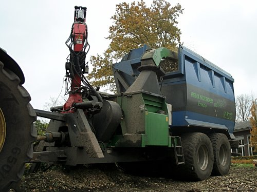 Greentec Chipper van nbomers
