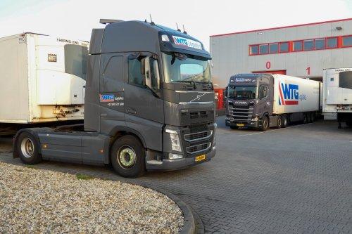 Kijk, daar heb je WTG Logistics (Emmen) × met een Onbekend meerdere (diverse merken), opgebouwd voor koeltransport.