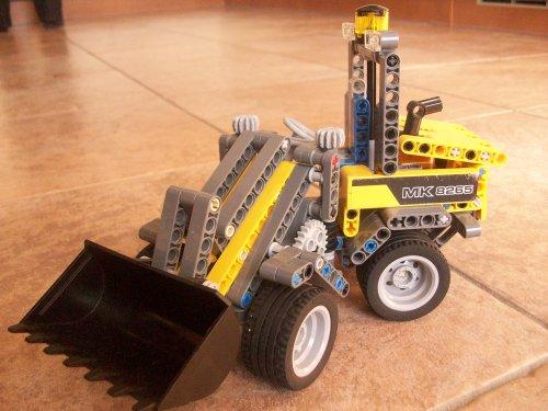 Onbekend Lego technic van TLA-TSA