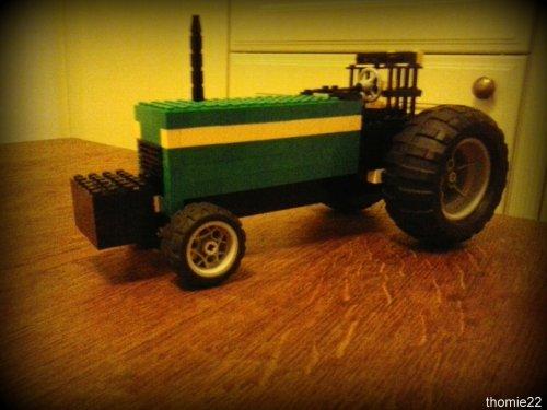 Onbekend Lego tractor. van thomie22