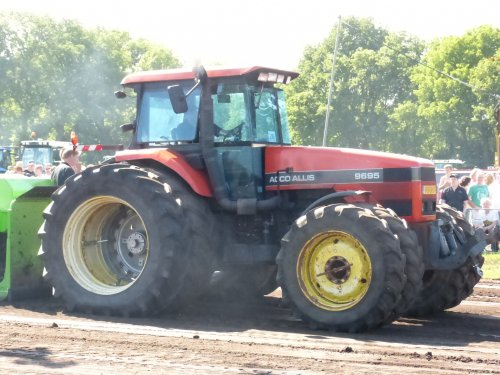 Agco Allis 9695 van allis man